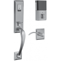 Baldwin Hardware Estate Series 85352 Cody Evolved 3/4 Escutcheon Handleset w/ 5024 Oval Knob or 5452V Beavertail Lever