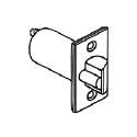 """Cal-Royal Challenger 2 3?8"""" UL-listed Dead latch, 2 1?4"""" x 1"""" Faceplate ( key functions only )"""
