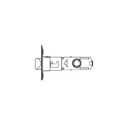 Cal-Royal Italia Series Grade 2 (4-way) Passage Adjustable Latch