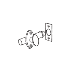 Cal-Royal Door / Window Casement Security Latch Lock Bolt Projection: 1/2