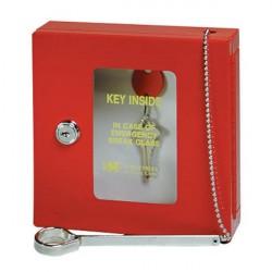 MMF 201900007 Emergency Key Box Keyed-Red