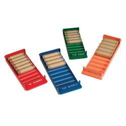 MMF 212080000 Rolled Coin Storage Trays (4-Pack)