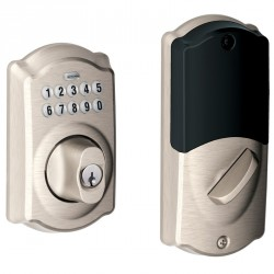 Nexia BE369NX Camelot Style Home Security (Schlage LiNK Enabled) Add-On Keypad Deadbolt