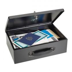 MMF 2216140BP04 Fire-Retardant Security Box-Black