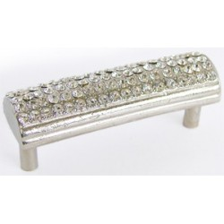 Emenee-OR156 Rhinestone Domed Handle