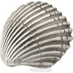 SIRO-1124-64 Ocean Line Scallop Shell Handle