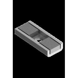 Mag Daddy 820 N45M Magnet Mount, Silver (Pkg Qty 10)