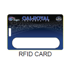 Cal-Royal Extra RFID Card