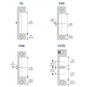 HES 1DB / 1DB-2 Faceplate & Specialty Option Kits for 1600 Series Electric Strikes