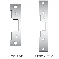 HES 7000-110 Replacement Strike Plate for Electric Strikes