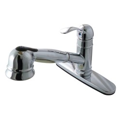 Kingston Brass GS757 Gourmetier Eden Pull-Out Kitchen Faucet