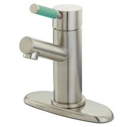 Kingston Brass FS842 Green Eden Single Handle Lavatory Faucet w/ Cover Plate