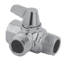 Kingston Brass K160A Plumbing Parts Solid Brass Plumbing Parts Flow Diverter for Shower Arm Mount