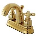 Kingston Brass FB561 Restoration 4-inch centerset Lavatory Faucet w/ AX cross handles