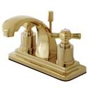 "Kingston Brass KS464 Millennium 4"" Centerset Lavatory Faucet"