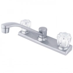 Kingston Brass GKB12 Water Saving Americana Centerset Kitchen Faucet w/ Acrylic Handle
