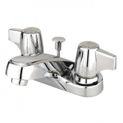 Kingston Brass GKB160 Water Saving Americana Centerset Lavatory Faucet w/ Canopy Handle, Chrome