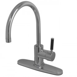 Kingston Brass GS871 Gourmetier Kaiser Single Handle Kitchen Faucet