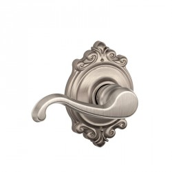 Schlage Callington Door Lever With Brookshire Decorative Rose