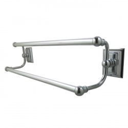 "Kingston Brass BA6013 Millennium 24"" Dual Towel Bar"