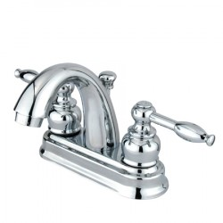 Kingston Brass GKB561 Water Saving Knight Centerset Lavatory Faucet w/ Lever Handles