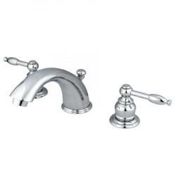 Kingston Brass GKB96 Water Saving Knight Widespread Lavatory Faucet