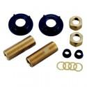 """Kingston Brass AET130-4 Aqua Eden AET130-4 1/2"""" IPS Brass Adapter"""