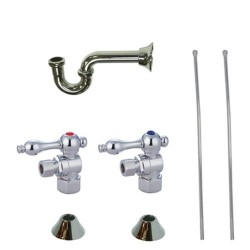 Kingston Brass CC4310 Trimscape Traditional Plumbing Sink Trim Kit w/ P Trap for Lavatory & Kitchen