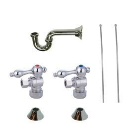 Kingston Brass CC5330 Trimscape Traditional Plumbing Sink Trim Kit w/ P Trap for Lavatory & Kitchen
