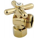 "Kingston Brass CC13002X Vintage Angle Stop w/ 1/2"" IPS x 3/4"" Hose Thread"