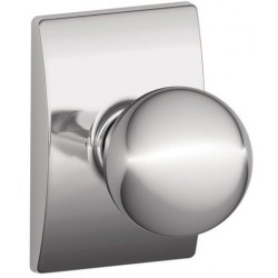 Schlage Orbit Door Knob with Century Decorative Rose
