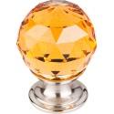 Top Knobs Amber Crystal Knob