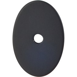 Top Knobs Medium Oval Backplate 1-1/2""