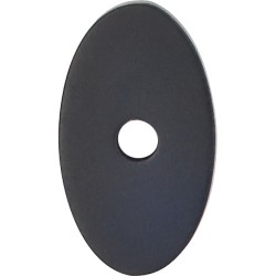 Top Knobs Small Oval Backplate 1-1/4""