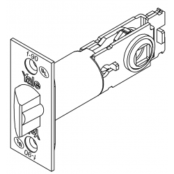 Yale NT Exterior Deadlocking Latch