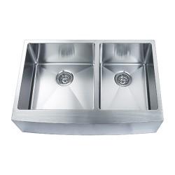 BOANN SKR3322D2 Apron R15 Double Sink