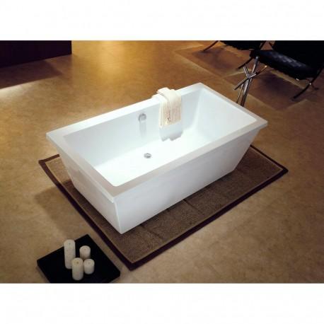 Dyconn DYF-VT2001-S Matera 5.5 ft. Acrylic Slipper Flatbottom Bathtub