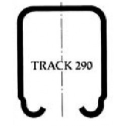 Pemko 290/_ Track for Sliding and Folding Doors