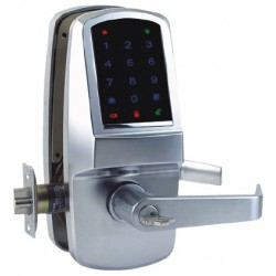 Cal-Royal CR6000 Series Heavy Duty Grade 1 Digital Touch Screen Door Lock w/ RFID Proximity Card Capability