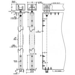 Pemko FIF_ and PIF_ Folding Door Kits