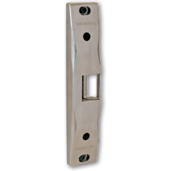 Von Duprin 6300 Series Surface Mount Electric Strike for Rim Exit Devices, Satin Stainless Steel
