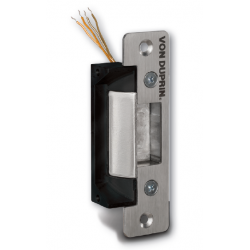 Von Duprin 4200 Series Electric Strikes for Cylindrical & Deadlatch Locks, Satin Stainless Steel