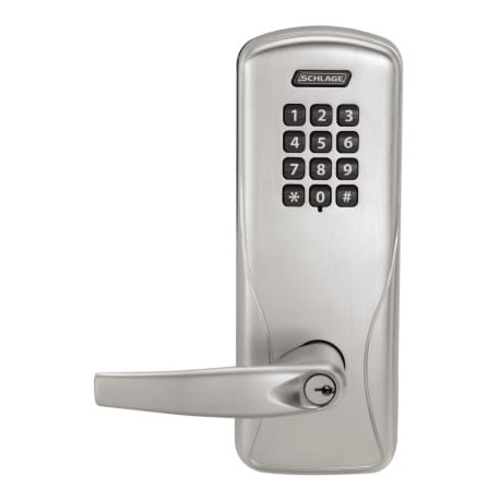 Schlage Commercial CO-200-CY-50-KP RHO 619PDC LH CO-200 Rights on Lock -  Cylindrical Electronic Access Control Keypad Programmable Lock