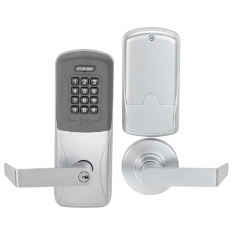 schlage commercial locks. Simple Schlage Schlage Commercial CO200 Rights On Lock  MortiseMortise Deadbolt  Electronic Access Control Keypad Programmable Inside Locks