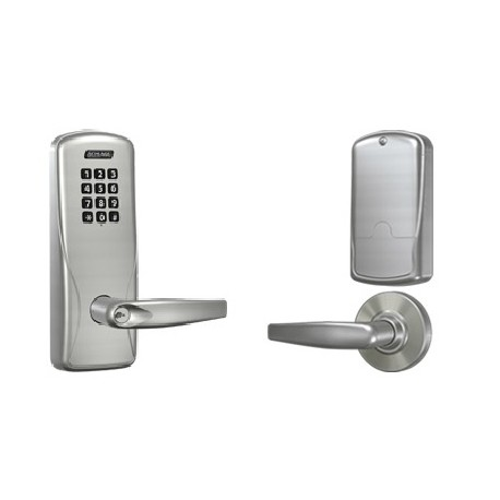 Schlage Commercial CO-100 Cylindrical Rights on Lock Manually Programmable - Electronic Access Control Keypad Lock