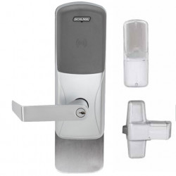 Schlage Commercial CO-993DT Dummy Exit Trim with dummy reader cover for Exit Rim, Concealed Vertical Rod