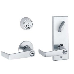 Schlage S200-Series Grade 2 Interconnected Lock - Saturn Design