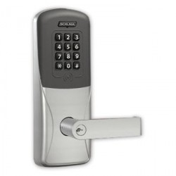 Schlage Commercial CO-200 Series Electronic Access Control CO-200-CY70-PRK-RHO Prox/Keypad Programmable Card Lock with Rhodes Le