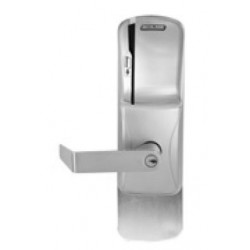 Schlage Commercial CO-250 Rights on Card - Exit Trim Electronic Access Control Keypad Programmable Lock