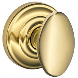 Schlage Siena Knob with Andover Rose